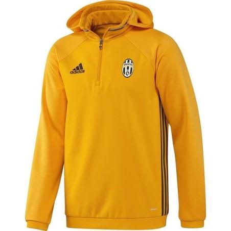 La Juventus sudadera de felpa de entrenamiento amarillo 2016/17 Adidas