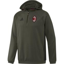 AC Milan felpa allenamento pile 2016/17 Adidas