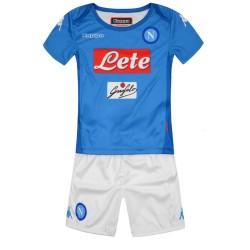 Naples jersey shorts home Baby newborn 2017/18 Kappa