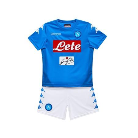 SSC Napoli maglia pantaloncini home bambino 2017/18 Kappa