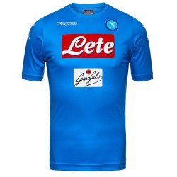 SSC Napoli maillot domicile, Kombat Supplémentaire 2017/18 Kappa