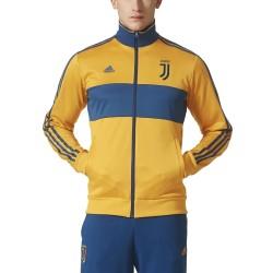 Juventus felpa Track Top 3 Stripes gialla 2017/18 Adidas