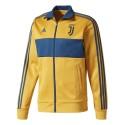 Juventus sweatshirt Track Top 3 Stripes yellow 2017/18 Adidas