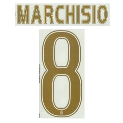 Juventus Marchisio 8 Name and Number Jersey Third 2015/16