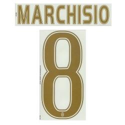 La Juventus Marchisio 8 Nom et le Numéro de Maillot de Troisième 2015/16