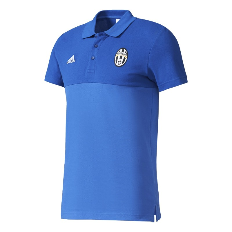 Juventus FC Polo Saison Spéciale Bleu Adidas
