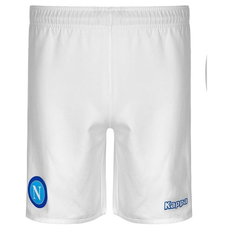 SSC Napoli pantaloncini home bianco 2015/16 Kappa