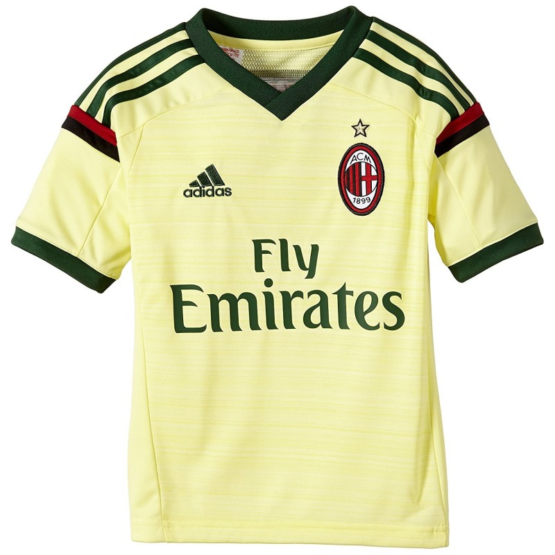 Ac Milan jersey third child 2014/15 Adidas