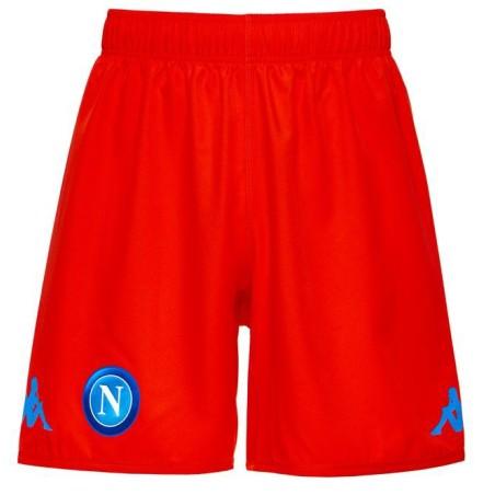 Le SSC Napoli shorts Kombat orange 2017/18 Kappa