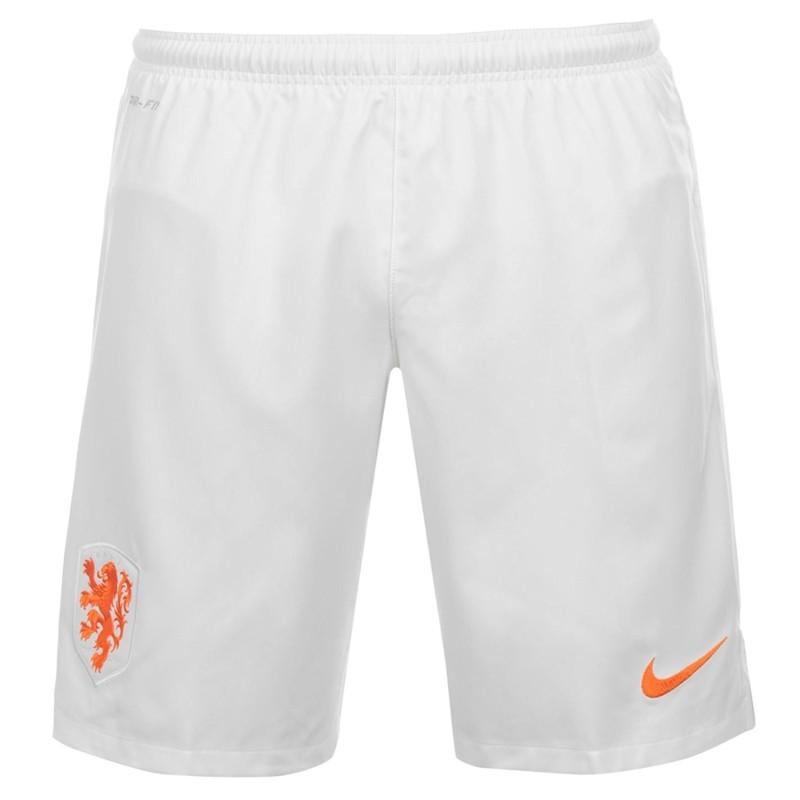 Nike Olanda pantaloncini home bianco 2014/16