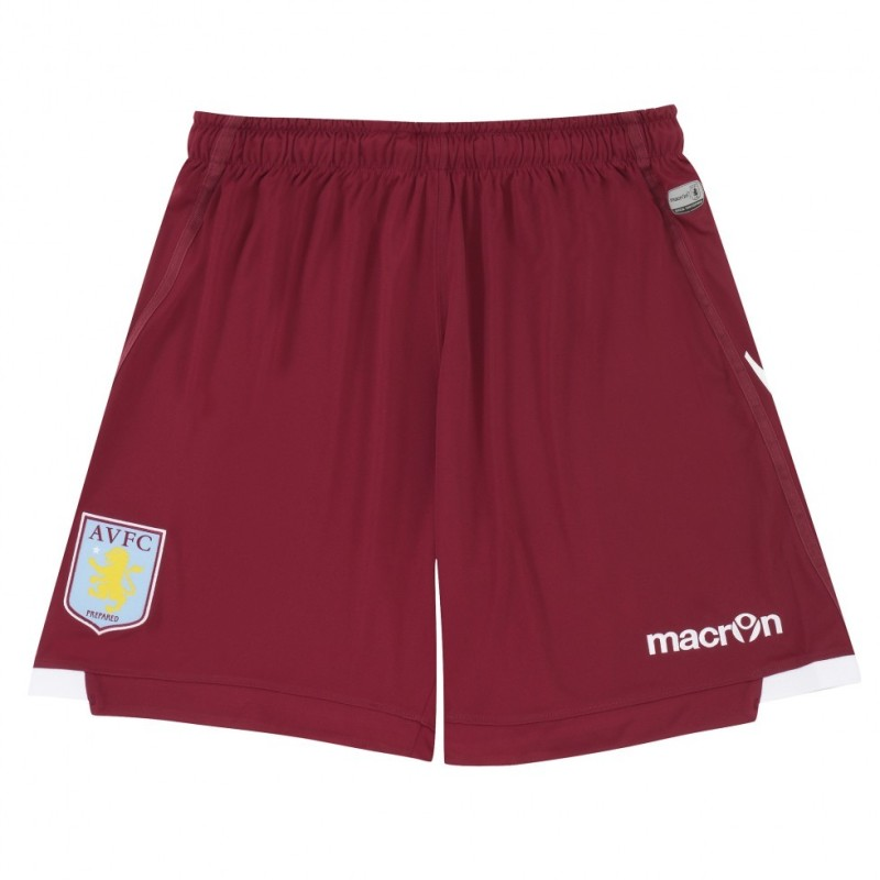 Aston Villa pantaloncini away 2014/15 Macron