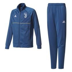 La Juventus de chándal de banco azul bebé 2017/18 Adidas