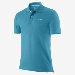 Polo de Nike SS Piqué de color turquesa