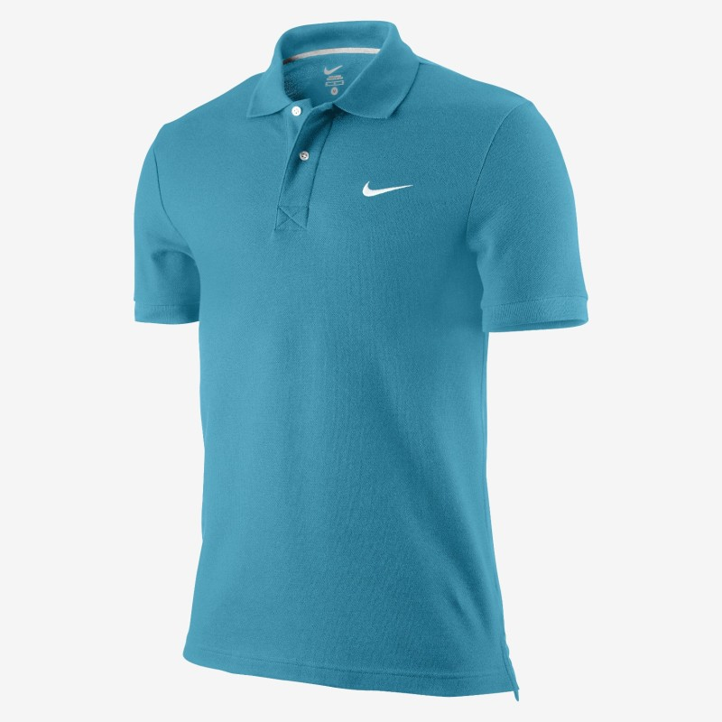 Nike polo SS Pique turchese