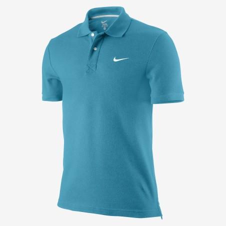 Nike polo SS Pique turquoise