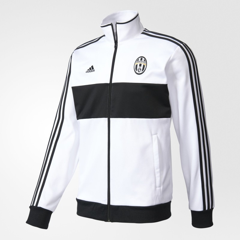 Sweat-shirt de la Juventus Track Top 3 Bandes blanches Adidas