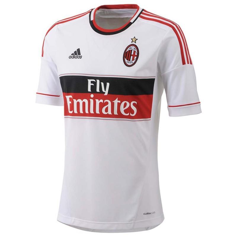 Milan maglia trasferta bianca 2012/13 Adidas