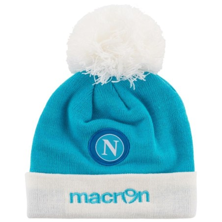 SSC Neapel hut Mütze hellblau weiß Macron