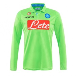 SSC Napoli goalkeeper shirt-green 2014/15 Macron