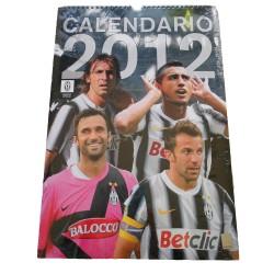 La Juventus calendrier vertical officiel 2012