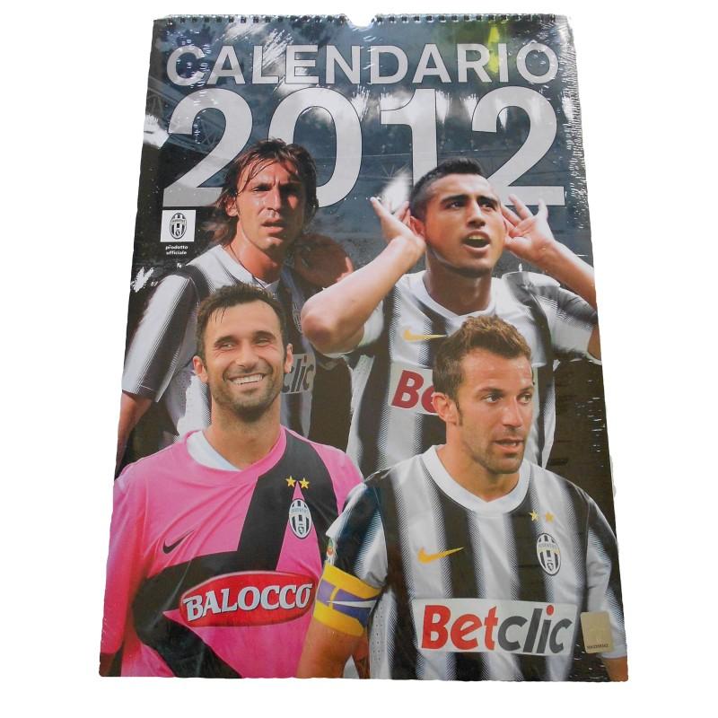 Juventus calendario verticale 2012 ufficiale