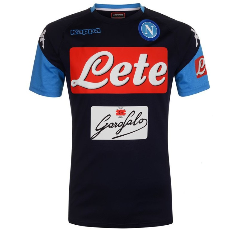 SSC Napoli Camiseta de Entrenamiento de Abouo azul 2017/18 Kappa