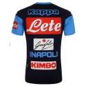 SSC Napoli Maglia Allenamento Abouo blu 2017/18 Kappa