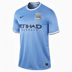 Manchester City home shirt 2013/14 Nike