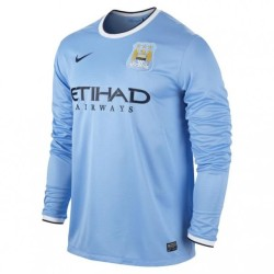 Camiseta de Manchester City home ML 2013/14 Nike