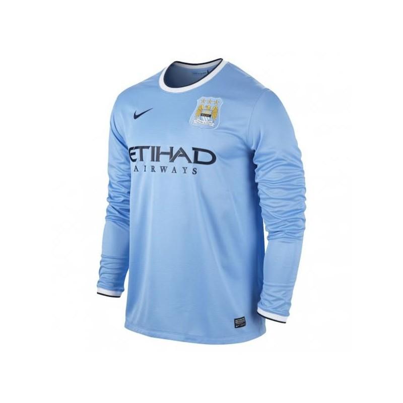 Camiseta de Manchester City home ML 2013/14 Nike