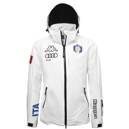FISI Jacket 6cento 650 Ski white Kappa