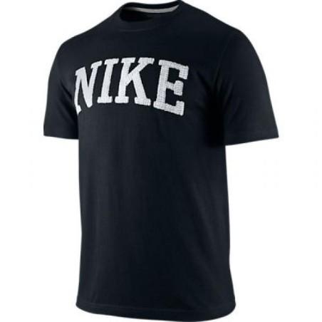 Nike t-shirt Swoosh logo noir