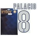 """Inter """"8 Palacio"""" Kit Maglia nome e numero 2013/14"""