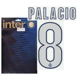 """El Inter """"8 Palacio"""" Kit de Jersey nombre y número de 2013/14"""