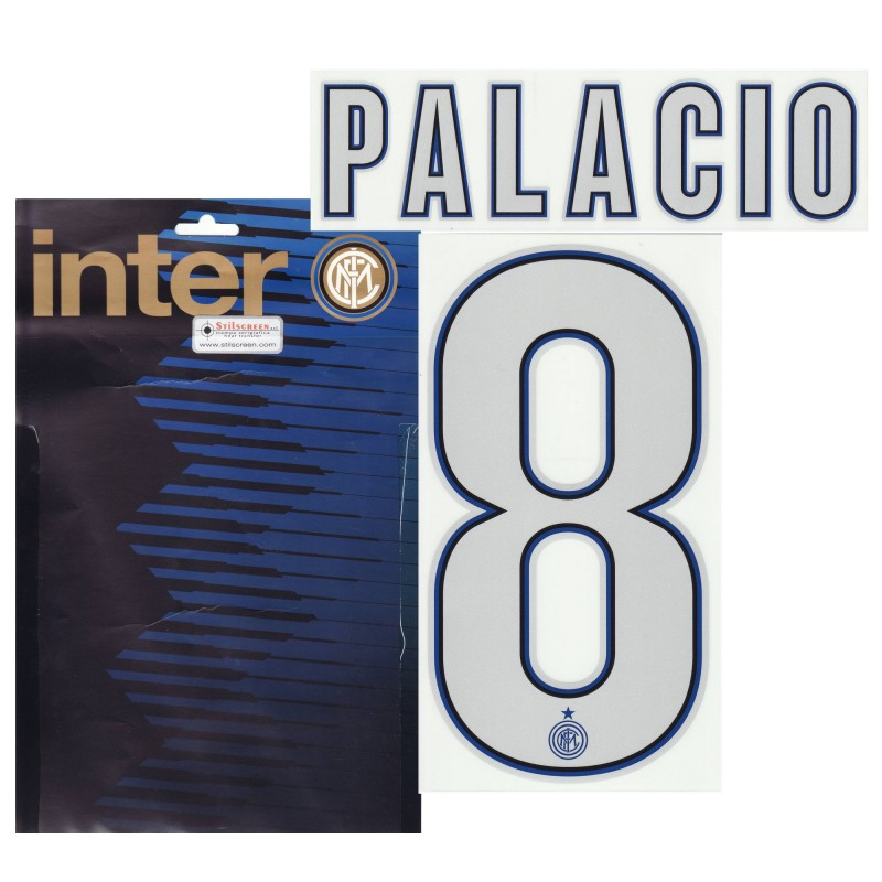 "Inter ""8 Palacio"" Kit Jersey name and number 2013/14"