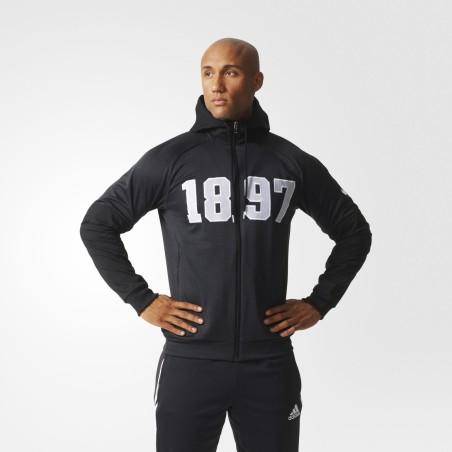 FC Juventus 1897-sweatshirt mit kapuze Adidas