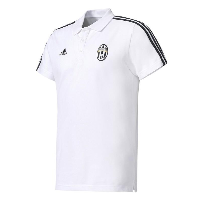 Juventus polo 3 Stripes bianca Adidas AZ5337