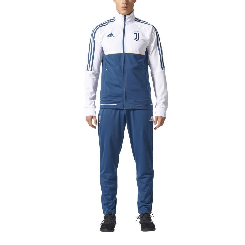 Juventus tracksuit bench white 2017/18 Adidas