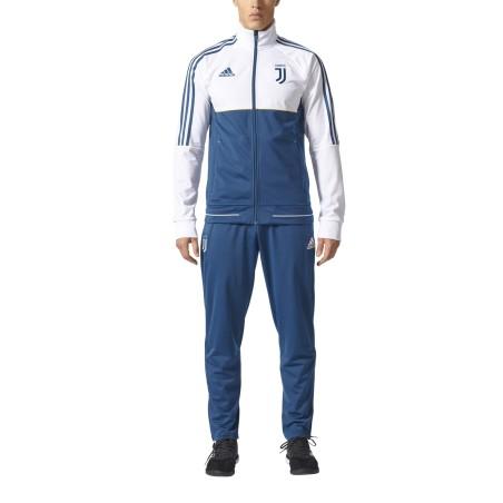 La Juventus de chándal banquillo blanco 2017/18 Adidas