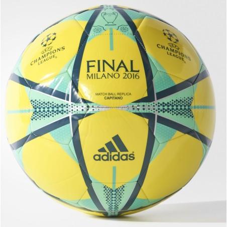 Adidas Balón de la Final del 16 de Milán amarillo Champions League 2015/16
