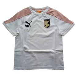 US Palermo t-shirt bambino bianca calcio Puma