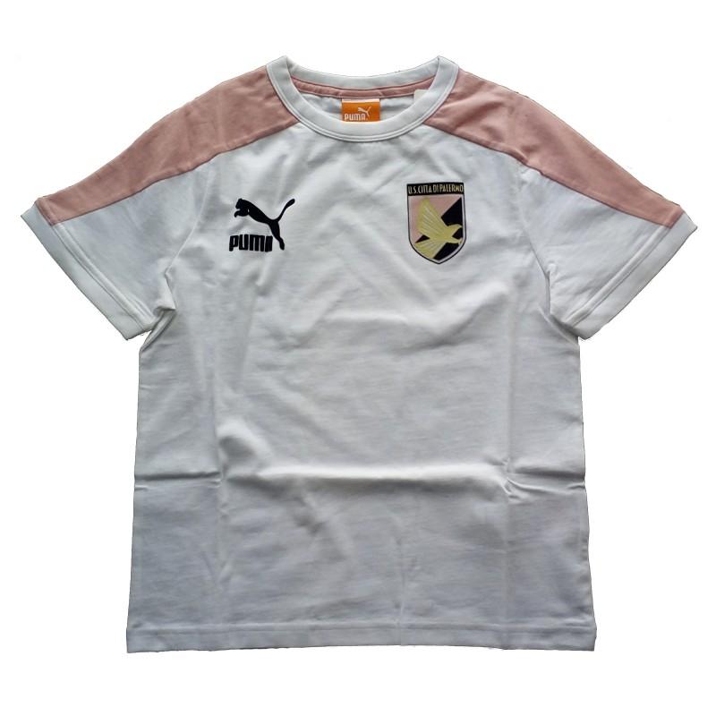 NOUS Palerme t-shirt enfant blanc football Puma
