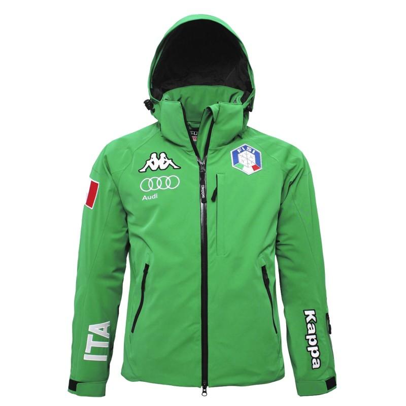 FISI Giacca 6cento 650 Sci Verde Kappa
